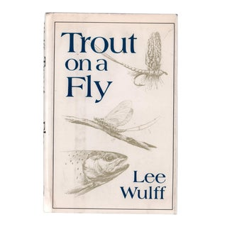 """1986 """"Trout on a Fly"""" Collectible Book For Sale"""