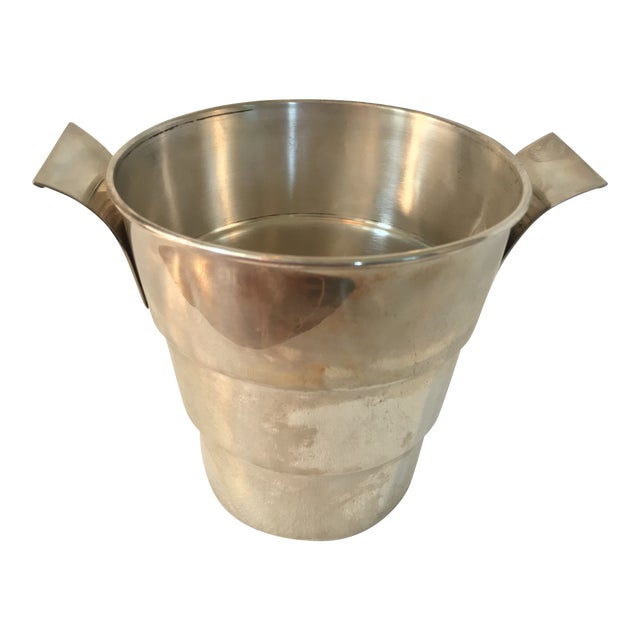 Sterling 925 Wine Cooler Ice Bucket For Sale