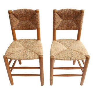 Charlotte Perriand Oak Side Chairs - A Pair Preview