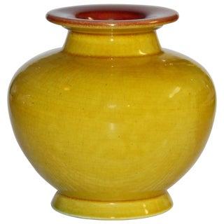 Antique Christopher Dresser Linthorpe Art Pottery Vase For Sale