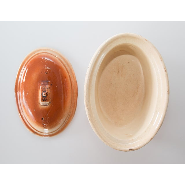 Early 20th Century Antique French Lidded Pate Terrine For Sale - Image 5 of 8