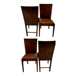 Theodore Alexander Rosewood Side Chairs- Set of 4 For Sale