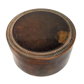 Colgate & Co Antique Brass Canister