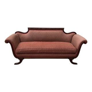 1960s Vintage Greek Key Sofa For Sale