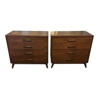 Mid Century Modern Henredon Heritage Chests - a Pair For Sale