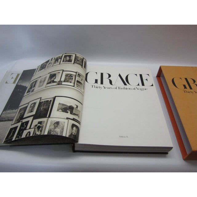 Mid-Century Modern Grace, Thirty Years of Fashion at Vogue, First Edition Book in Original Box Grace Coddington For Sale - Image 3 of 9