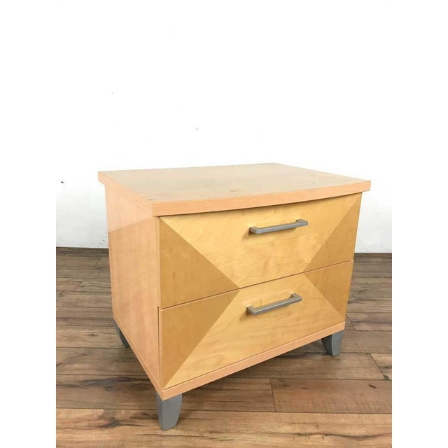 Contemporary Alf Design Group Two-Drawer Night Stand For Sale - Image 3 of 9