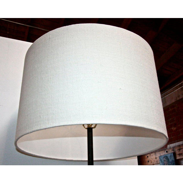 Iron French Iron Floor Lamp For Sale - Image 7 of 8