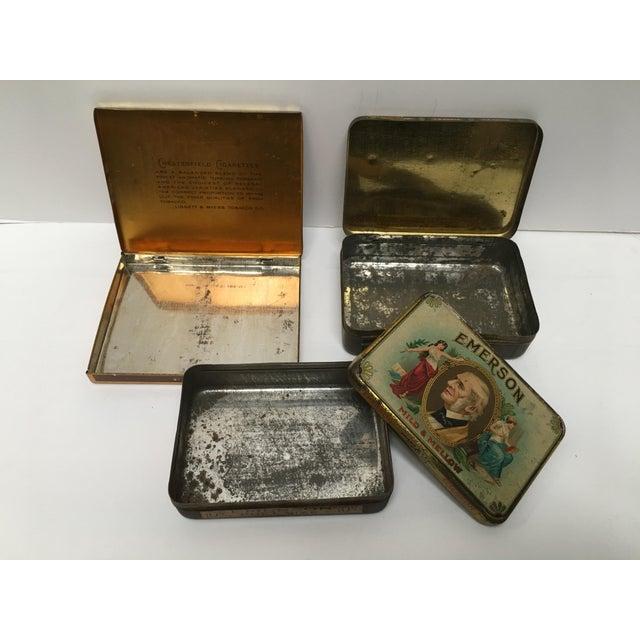 Vintage Tobacco Cigar & Cigarette Tins - Set of 3 - Image 6 of 11