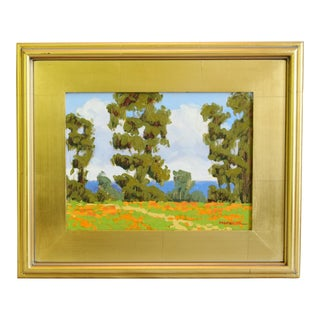M. Graison, California Plein Air Coastal Landscape Oil Painting