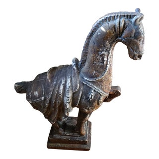 Contemporary Plaster Decorative Horse For Sale