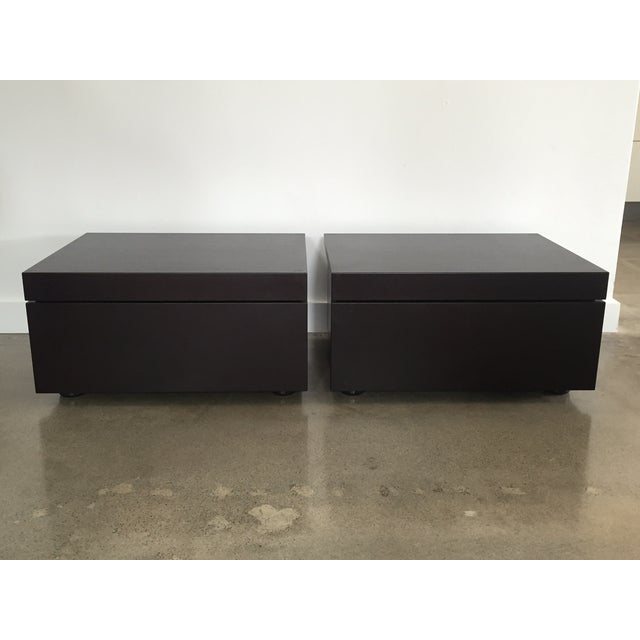 Poliform Abbinabili Attri. Nightstands - A Pair - Image 2 of 11