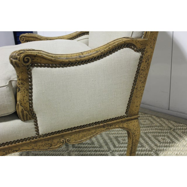 Early 20th Century Vintage Yale R. Burge Arm Chair For Sale In Los Angeles - Image 6 of 8