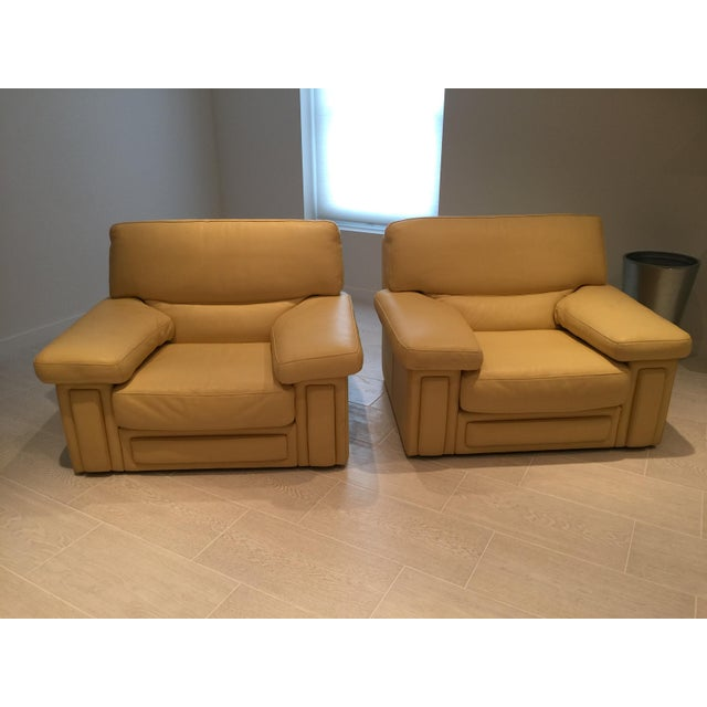 Animal Skin Roche Bobois Club Chairs - a Pair For Sale - Image 7 of 7