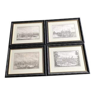 Late 19th Century Antique French Architectural Prints - Set of 4...can Be Sold Separately For Sale