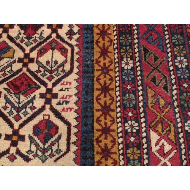 Mid 19th Century Antique Shirvan Prayer Rug For Sale - Image 5 of 7