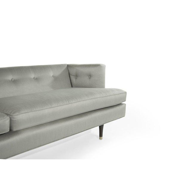 Metal Edward Wormley for Dunbar Sofa, Circa 1954 For Sale - Image 7 of 11