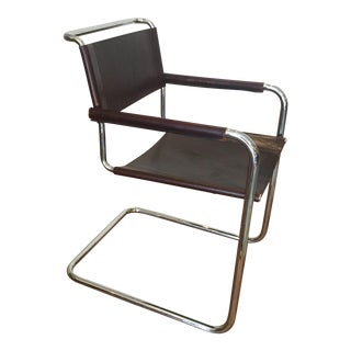 Stendig Cantilevered Leather Chair