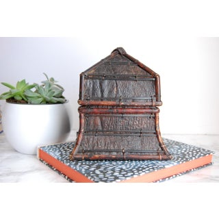 Tribal Indonesian Lidded Decorative Box Preview