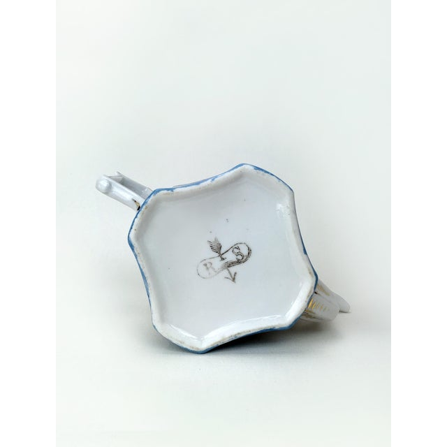Rs Prussia Blue & White Angle Teapot For Sale - Image 4 of 7