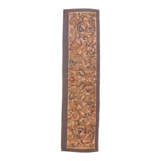 Antique French Tapestry Rug For Sale