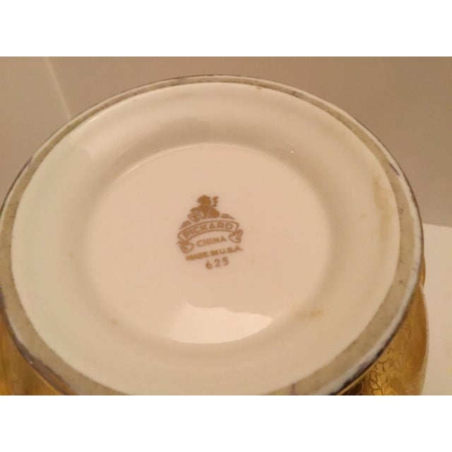 Gold Gold Pickard Tea Service For Sale - Image 8 of 9