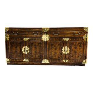Vintage Mid Century Era Asian Style Credenza For Sale