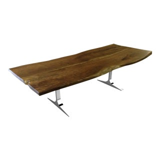 Elle Live Edge Dining Table 2 For Sale