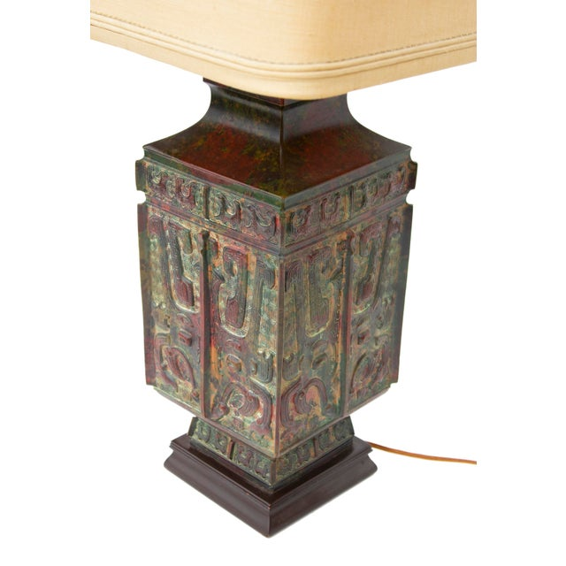Vintage Table Lamp by Marbro Lighting For Sale - Image 9 of 12