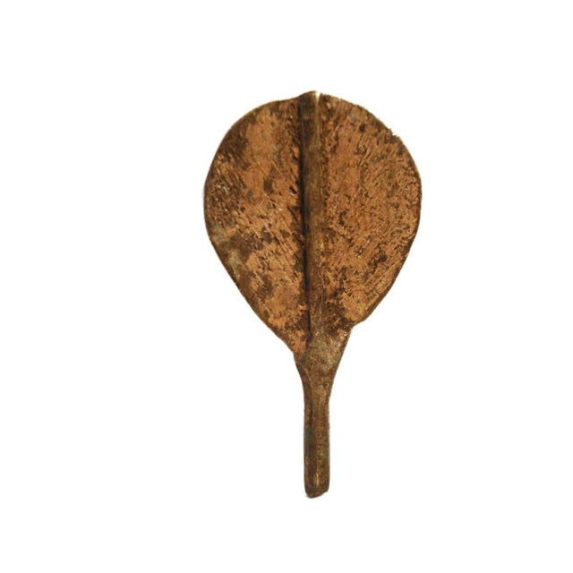 Ashanti or Baoule Bronze Gold weight spoon For Sale In New York - Image 6 of 6
