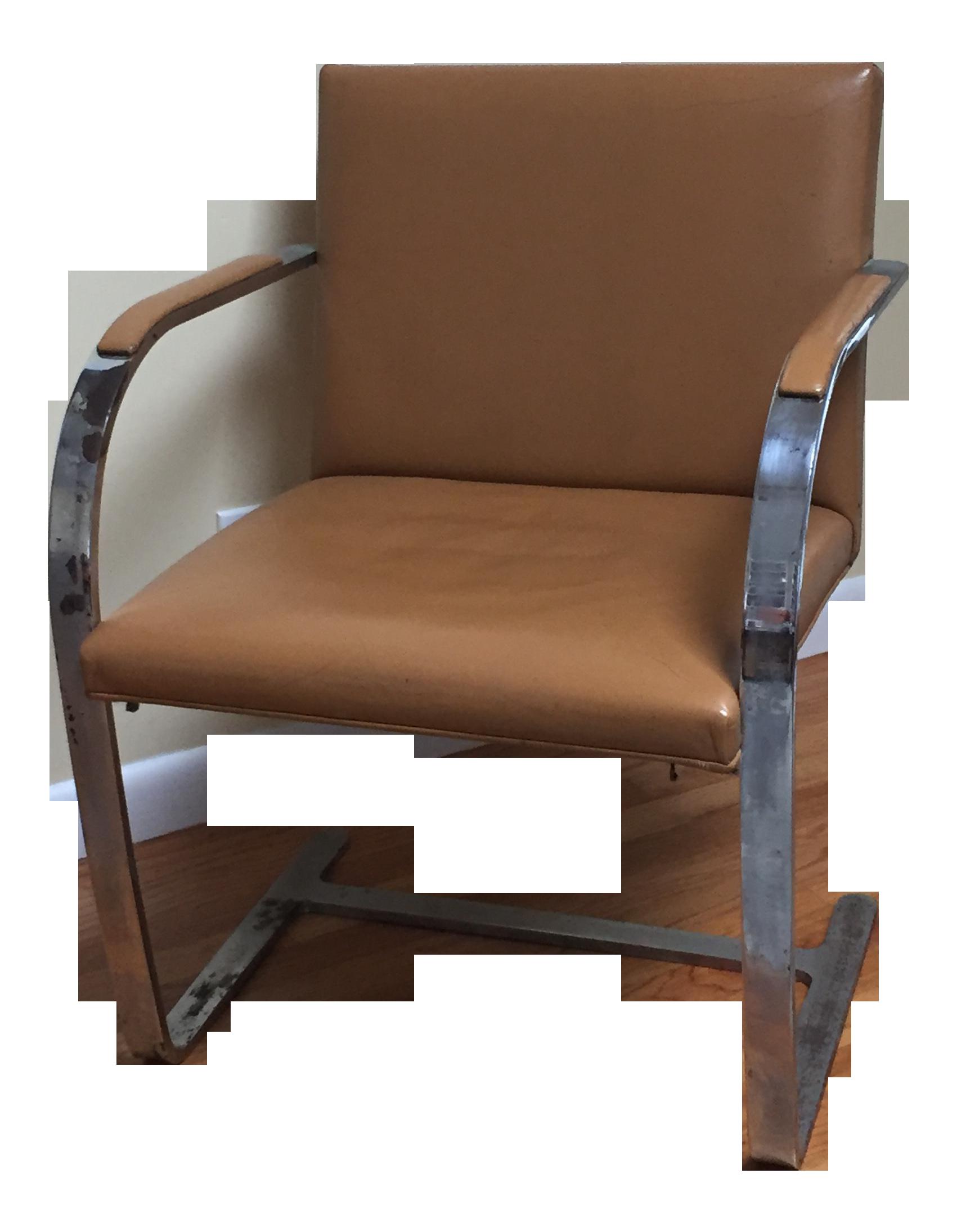 Mid Century Mies Van Der Rohe Brno Chair