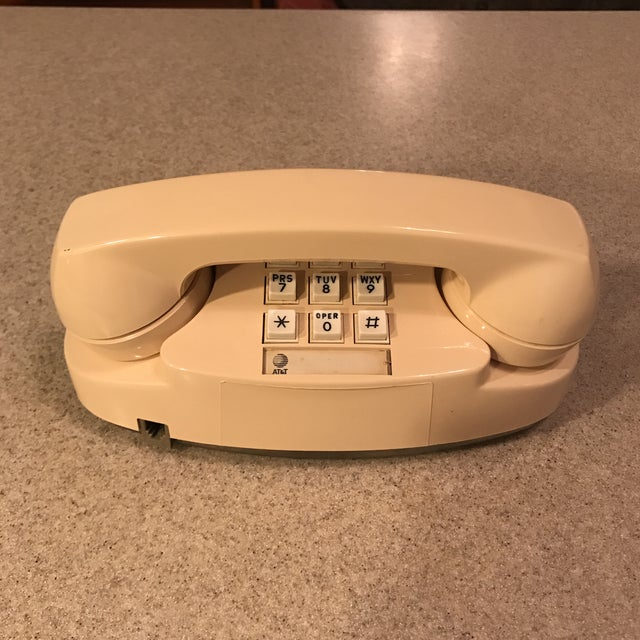 Ivory Western Electric Princess Push Button Phone - Image 2 of 11