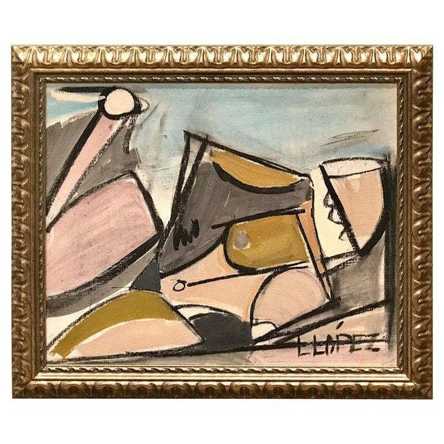 Lucia Lopez Cubist Nude, 1960s For Sale - Image 9 of 9