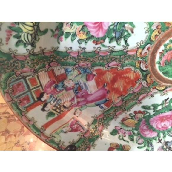 Vintage Rose Medallion Platter - Image 4 of 5