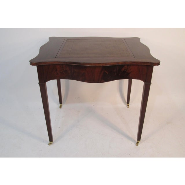 1940s Beacon Hill Collection Game Table For Sale - Image 10 of 10