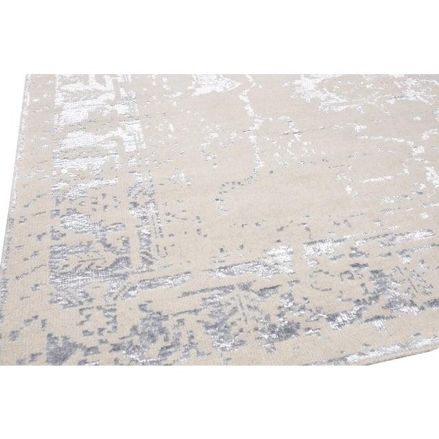Pasargad's Silk Fusion Silk & Wool Rug - 6' X 9' - Image 3 of 5