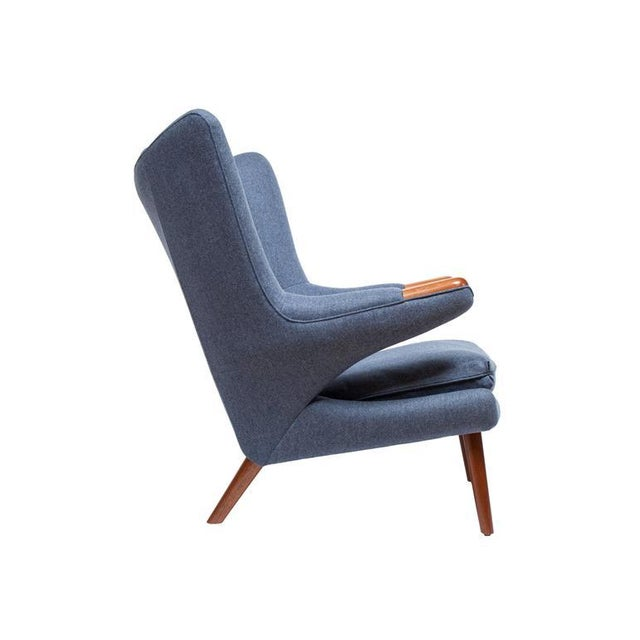 Pavel Wingback Armchair For Sale - Image 4 of 6
