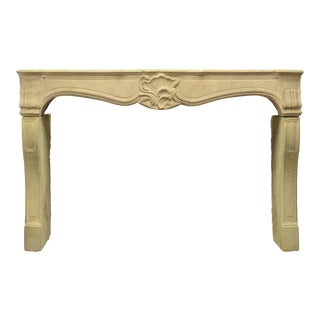 Antique Fireplace Mantel From France For Sale