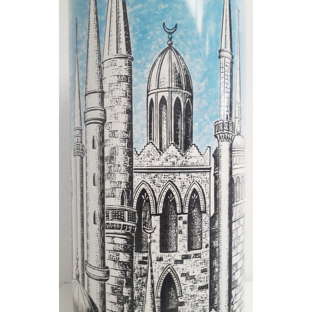 "Fornasetti ""Minarets"" Umbrella Stand by Fornasetti For Sale - Image 4 of 7"