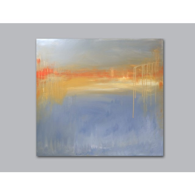 'FiRE iSLAND' Original Abstract Painting - Image 5 of 7