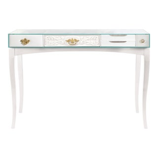 Covet Paris Soho White Console Table For Sale