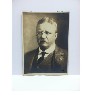 """Vintage Black & White Photograph, """"Theodore Roosevelt"""" Preview"""