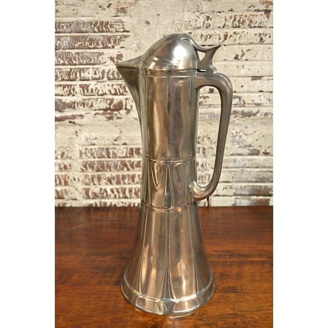 Art Nouveau Secessionist Wine Ewer - Image 3 of 10