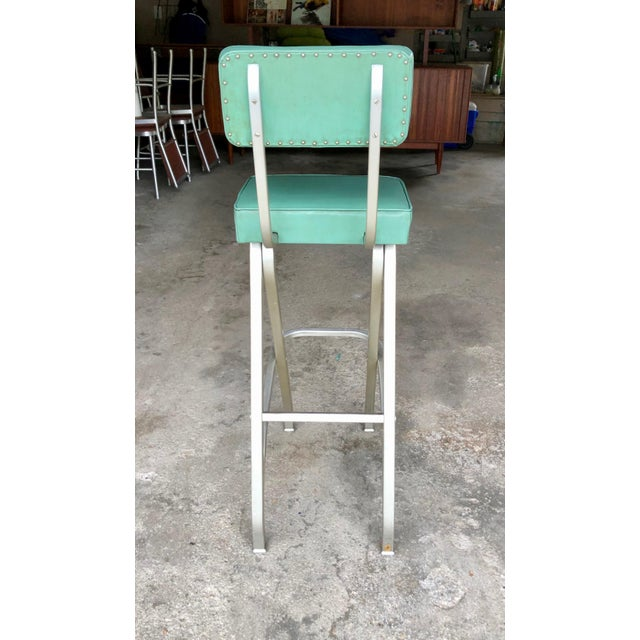 Mid-Century Modern Rare Warren McArthur Bar Stool/Kitchen Stool 1930's For Sale - Image 3 of 11