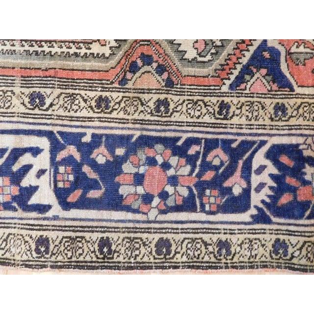"Tan Antique Persian Sarouk Farahan Rug - 5'6"" x 7' For Sale - Image 8 of 10"