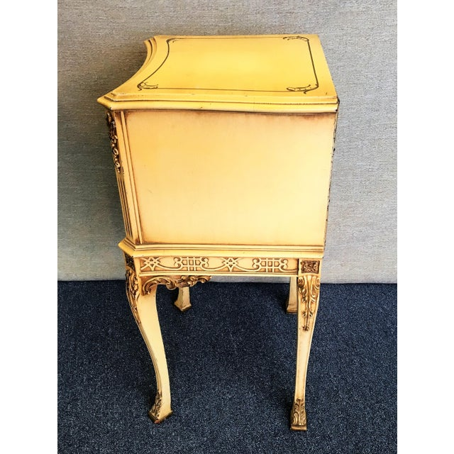 Chinese Chippendale Chairside Cabinet For Sale - Image 5 of 7