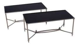 Image of Silver Tray Tables