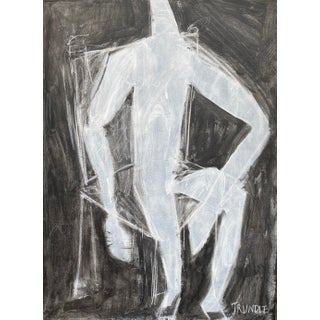 "Sarah Trundle, Contemporary Abstract Figure Painting, ""Anchored"" For Sale"
