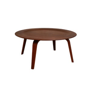 Charles Eames Molded Plywood Ctw Coffee Table for Herman Miller For Sale