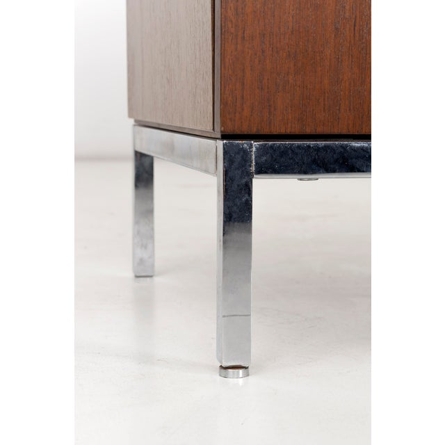 Brown Florence Knoll Marble Top Credenza For Sale - Image 8 of 10